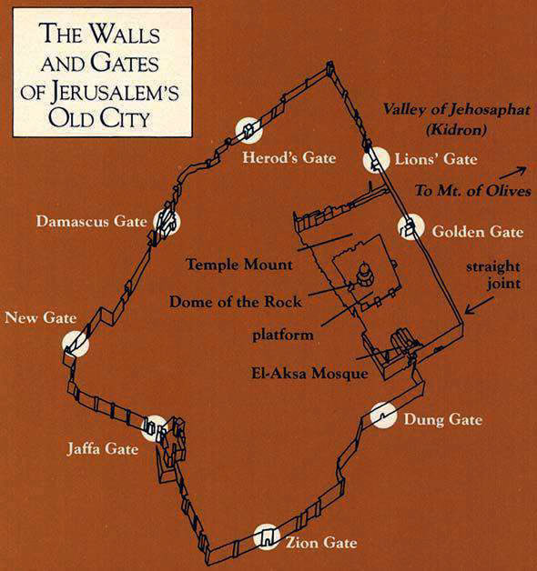 Map of Gates