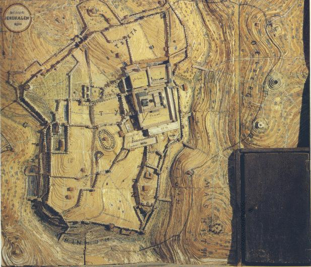 Early Maps and Models of Jerusalem